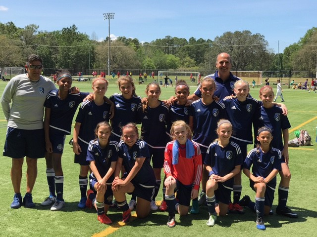 2005 Girls Headed to Presidents Cup Semi-Finals!