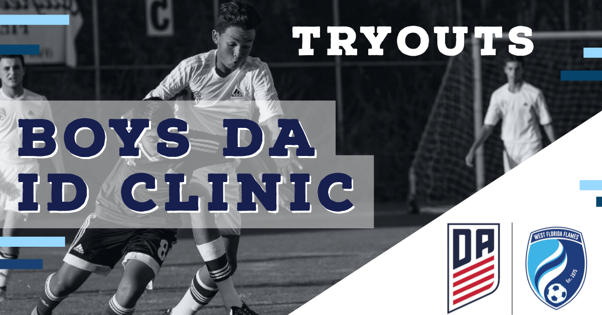 2020/2021 Boys DA ID Clinics (Tryouts) Announced
