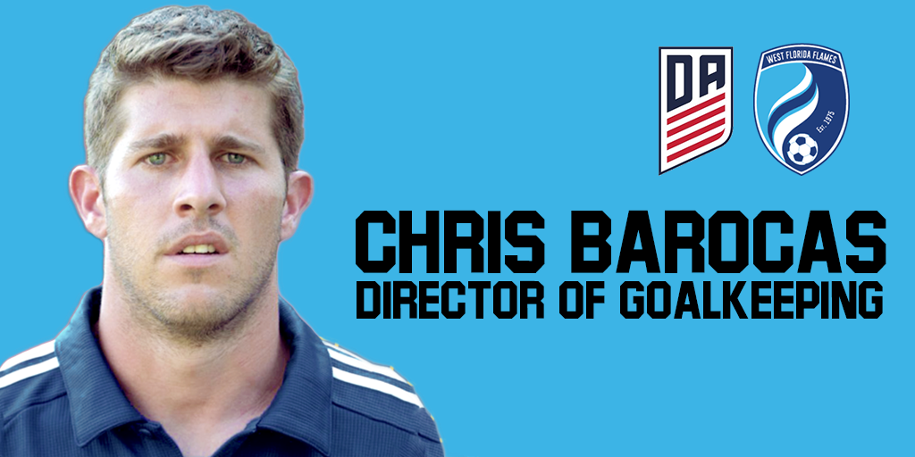 FLAMES ANNOUNCE CHRIS BAROCAS AS DIRECTOR OF GOALKEEPING
