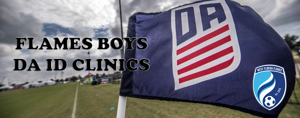Flames Announce 2019/2020 Season Boys DA Clinic Dates