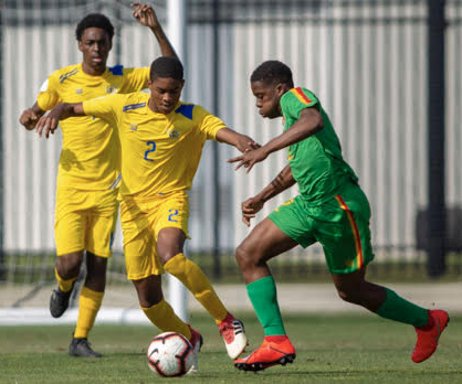 Flames Kyle Willis Enjoys Moment of A Lifetime Competing for the U.S. Virgin Island Soccer Association U17-MNT